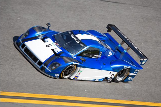Michael Valiante qualified the #6 Ford-Riley fourth fastest for the Rolex 24 at Daytona (Photo Credit: Rolex/Stephan Cooper)