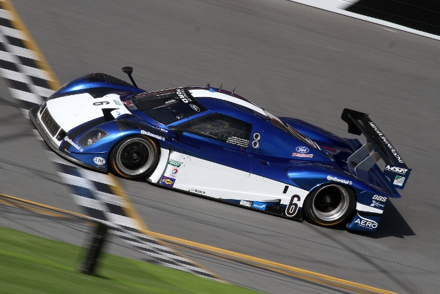 Michael Valiante set the test lap of the test in the penultimate session (Photo Credit: Grand-Am)