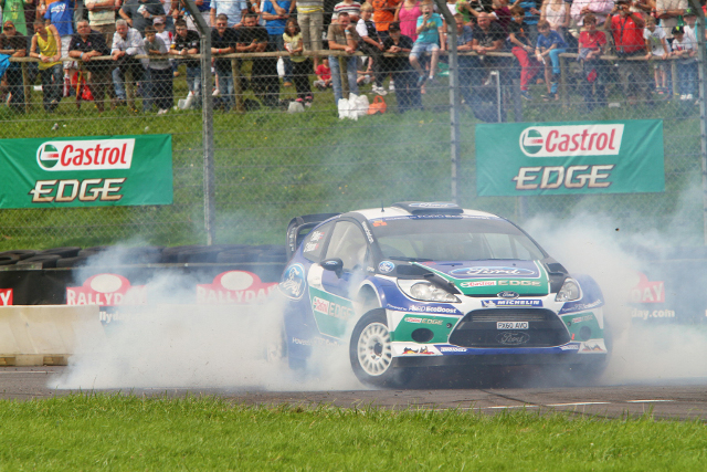 Petter Solberg headed the star names at Rallyday 2012 (Photo Credit: www.rallygallery.com))