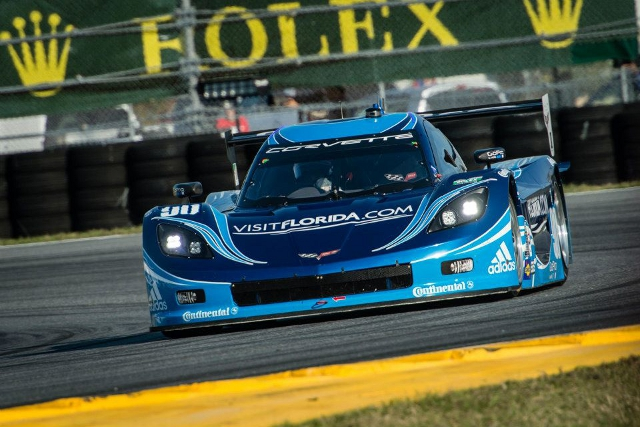 Spirit of Daytona Racing ended the Rolex 24 with a top five, as Troy Flis aimed for
