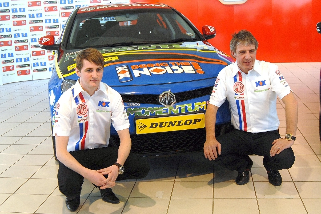 Tordoff replaces Andy Neate in driving the MG6 (Photo Credit: MG Motor UK)