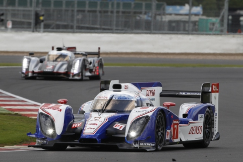 Toyota led Audi for much of the second half of 2012, but who will win in 2013 (Photo Credit: Frederic Le Floc'h/DPPI)