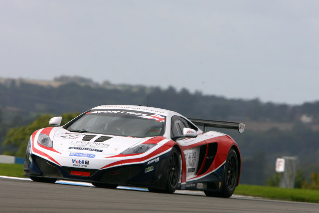 Three times a winner in 2012 United Autosports' McLaren MP4-12C will lead the cars on the SRO stand (Photo Credit: Jakob Ebrey)