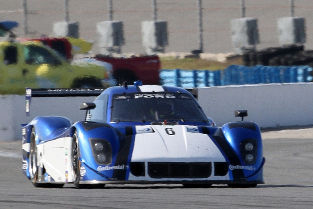 After leading the 'Roar Before the 24' Valiante returned to the top of the times (Photo Credit: Grand-Am)