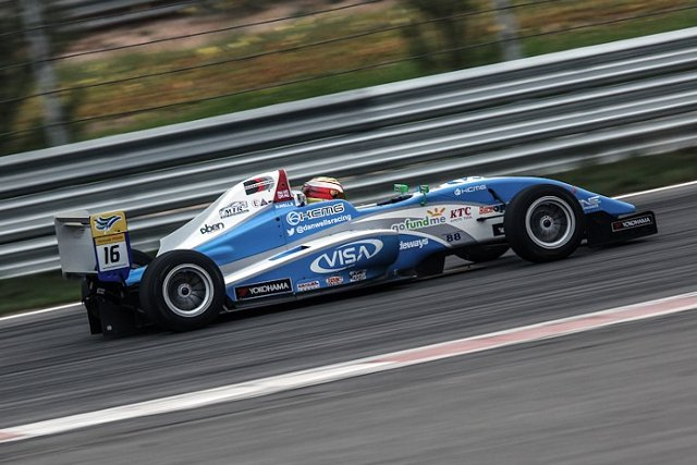 The Twitter powered racing driver headed for Hong Kong (Photo Credit: Dan Wells)