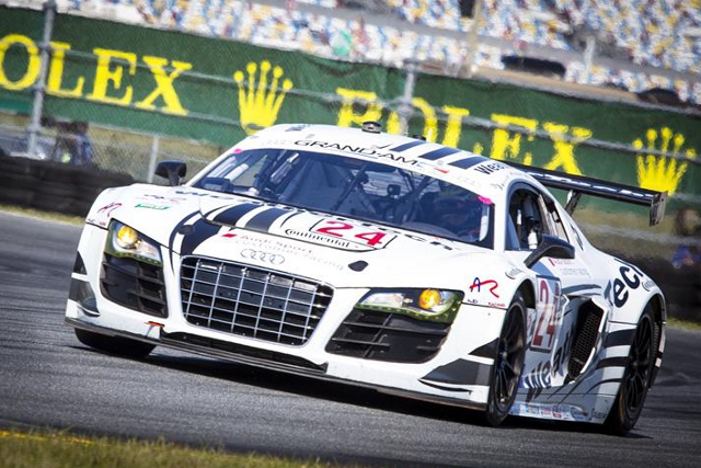 von Moltke and the Alex Job Racing team won by 1.5 second after a dramtic final hour (Photo Credit: Rolex/Stephan Cooper)