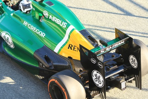 Caterham  CT-01 exhaust (Photo Credit: Octane Photographic)
