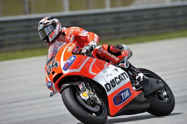 Andrea Dovizioso - Photo Credit: Ducati