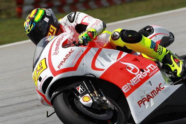 Andrea Iannone - Photo Credit: Pramac Racing Team