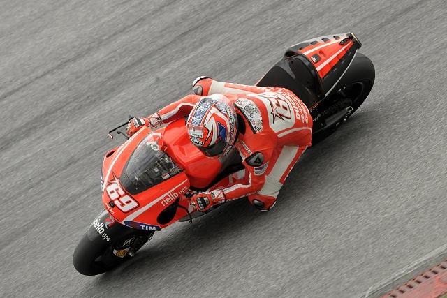 Nicky Hayden - Photo Credit: Ducati