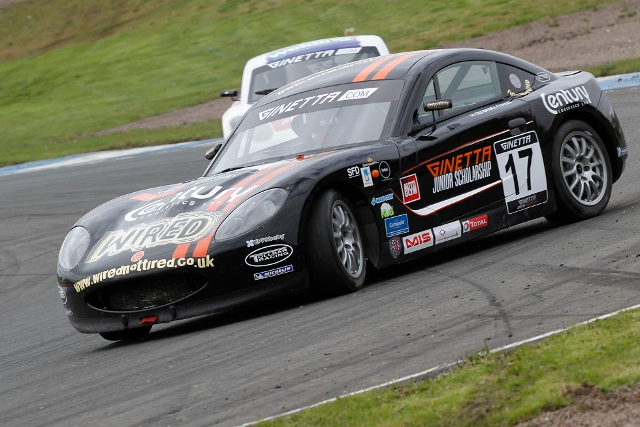 Basey-Fisher graduates from the Ginetta Junior series (Photo Credit: Jakob Ebrey Photography)
