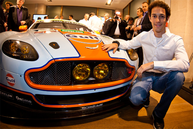 Bruno Senna will drive with Fred Makowiecki and Rob Bell (Photo Credit: Aston Martin Racing)