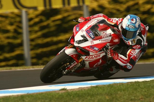 Carlos Checa - Photo Credit: Ducati