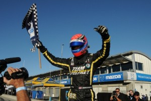 Hawksworth Secured The 2012 Star Mazda Title - Photo: Eric McCombs