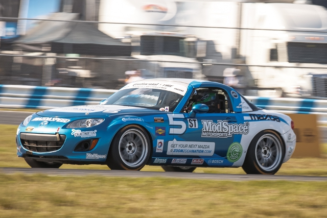 McAleer's trajectory has landed hin the Continental Tire Sports Car Challenge this season