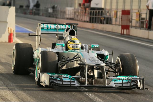 Rosberg 2 Barcelona 19Feb13