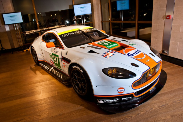The new GTE Vantage will lead Aston's GT exploits (Photo Credit: Aston Martin Racing)
