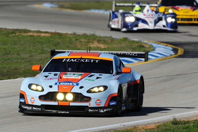 Aston Martin Racing raced at Sebring last year as part of the FIA WEC (Photo Credit: FIA WEC)