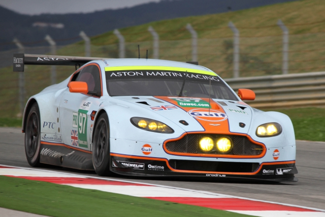 The test took the team through running in the dark and rain (Photo Credit: Aston Martin Racing)