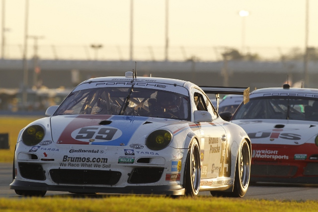 The Brumos squad will loook for a solid finish after their Daytona retirement (Photo Credit: Porsche North America)