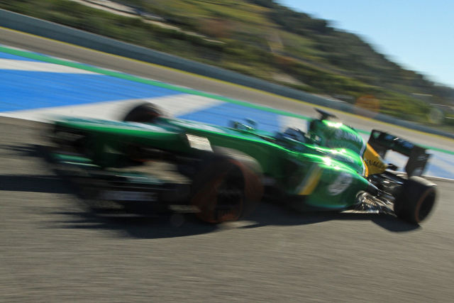 Jerez hosted the first on track action of the 2012 F1 season (Photo Credit: Octane Photographic)
