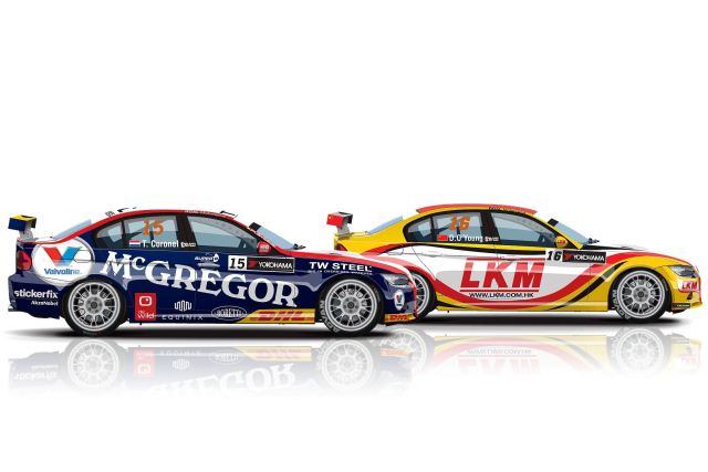 Tom Coronel and Darryl O'Young - Photo Credit: ROAL Motorsport