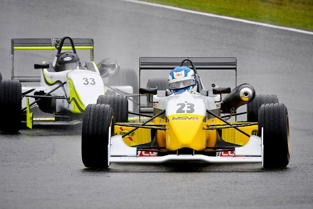 James Cross AW Tracksport Dallara F302/4 Mugen Honda