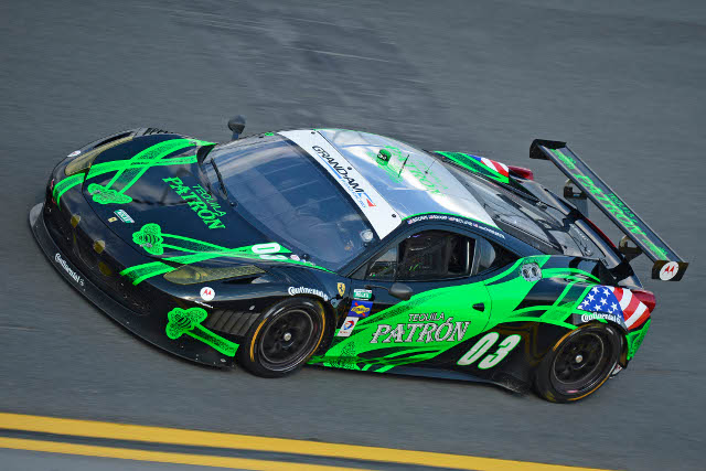 ESM's 2013 season began at the Rolex 24 at Daytona (Photo Credit: ferrari.com)