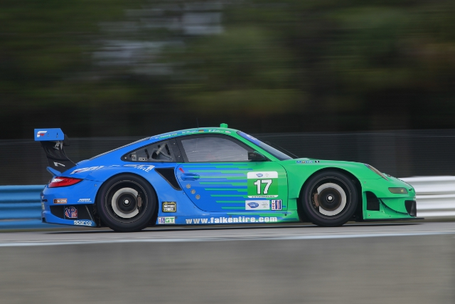 Bryan Sellers was the fastest Porsche man for Team Falken Tire (Photo Credit: Porsche North America)