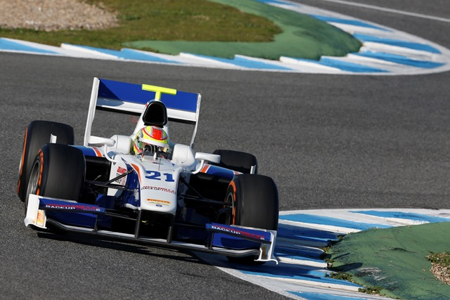 Robin Frijns - Photo Credit: Alastair Staley/GP2 Series Media Service