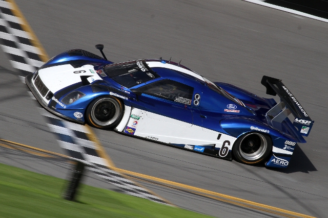 Yacaman and Pizzonia will keep the #6 on the grid for the entire 2013 season (Photo Credit: Grand-Am)