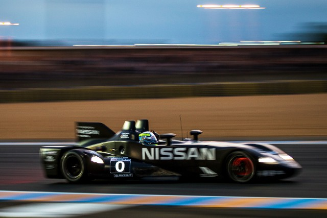 The Nissan engined DeltaWing took advantage of the Garage 56 entry in 2012 (Photo Credit: Highcroft Racing)