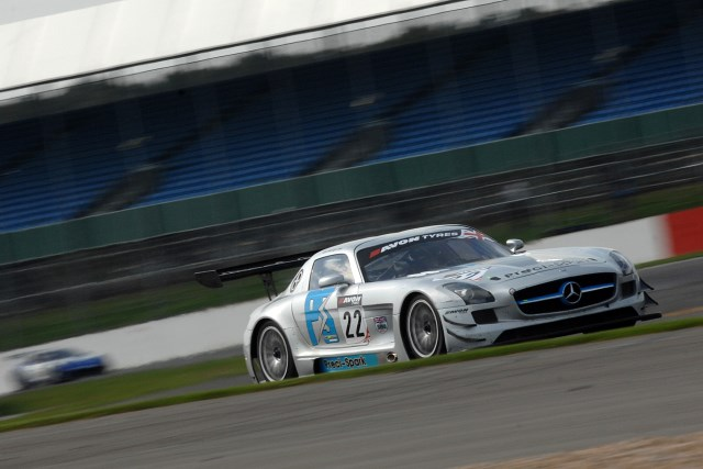 The Jones brothers will return with their Mercedes SLS (Photo Credit: Chris Gurton Photography)