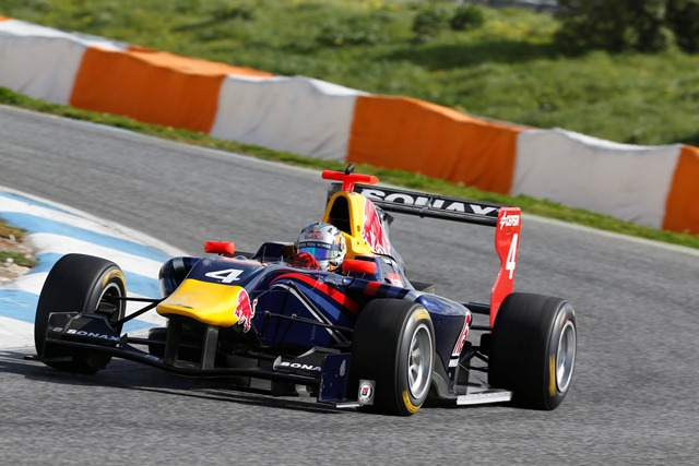 Carlos Sainz Jr - Photo Credit: Alastair Staley/GP3 Series Media Service