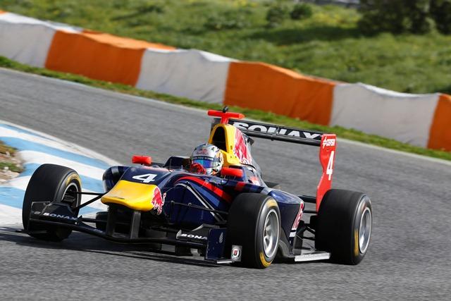 Carlos Sainz Jr - Photo Credit: Alastair Staley/GP3 Series Media Service