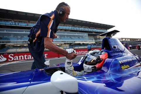 Giovanni Venturini - Photo Credit: Daniel Kalisz/GP3 Media Service