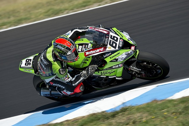 Tom Sykes - Photo Credit: Kawasaki Racing Team