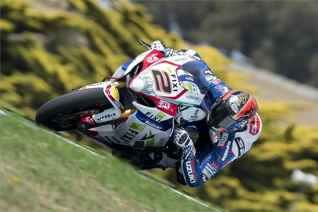 Leon Camier - Photo Credit: Suzuki Racing