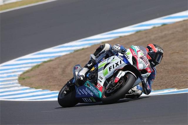 Leon Camier - Photo Credit: Suzuki Racing