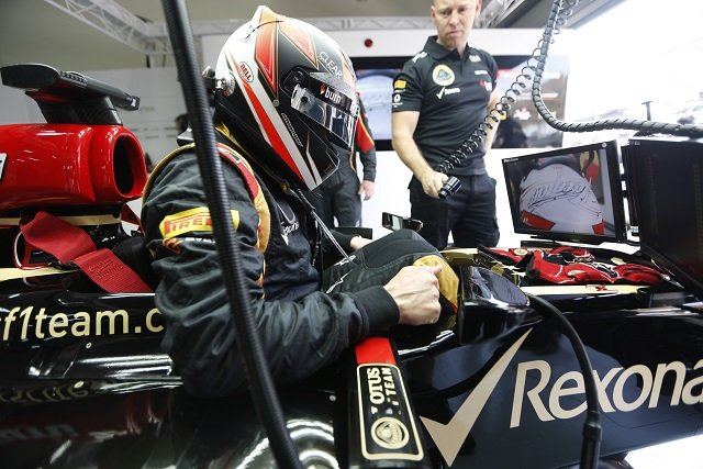 Kimi Raikkonen - Photo Credit: Lotus F1 Team