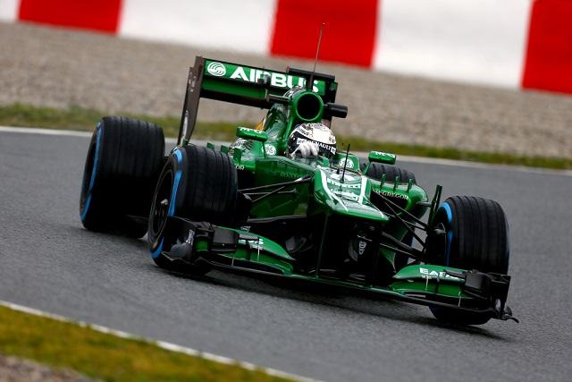 Giedo van der Garde - Photo Credit: Caterham F1 Team