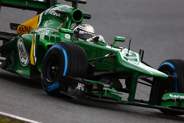Giedo van der Garde - Photo Credit: Caterham F1 Team