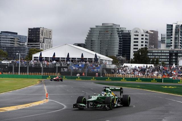 Charles Pic - Photo Credit: Caterham F1 Team