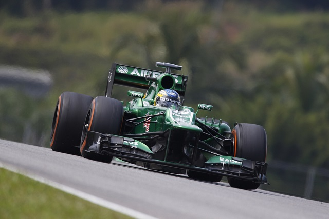 Charles Pic - Photo Credit: Caterham F1 Team
