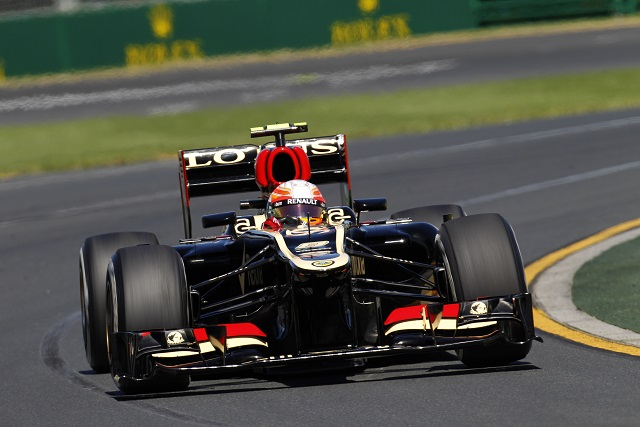 Romain Grosjean - Photo Credit: Lotus F1 Team