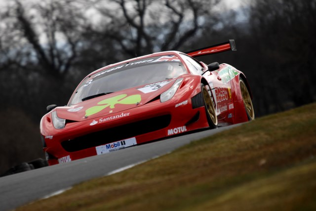Simonsen was fastest in the 2011-spec Ferrari 458 (Photo Credit: Chris Gurton Photography)