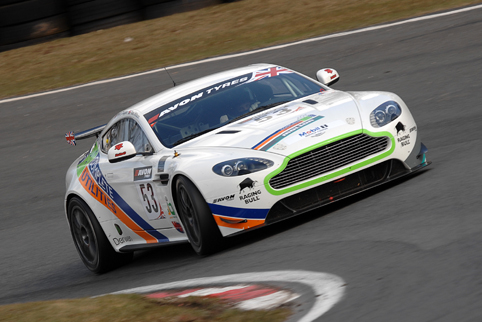 Steve Chaplin took GT4 pole for Monday's opener (Photo Credit: Chris Gurton Photography)