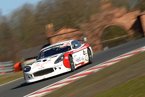 On his series debut Decaln Jones was fastest in GT4 (Photo Credit: Chris Gurton Photography)