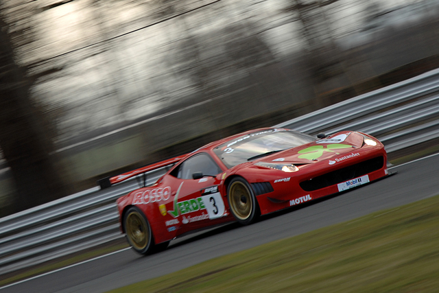 Simonsen needed just two laps to take race two pole for Rosso Verde (Photo Credit: Chris Gurton Photography)