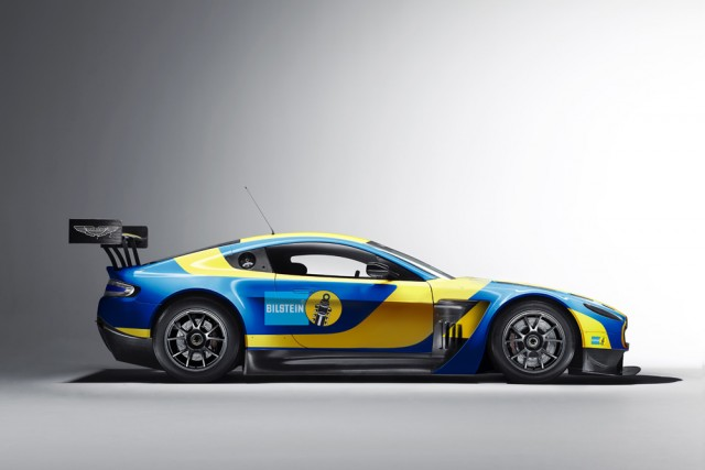 The iconic Bilstein livery will once again return to the Nordschleife this season as the suspension specialists team up with Aston Martin Racing for 2013.